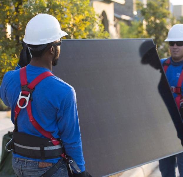 Solar Installation workers