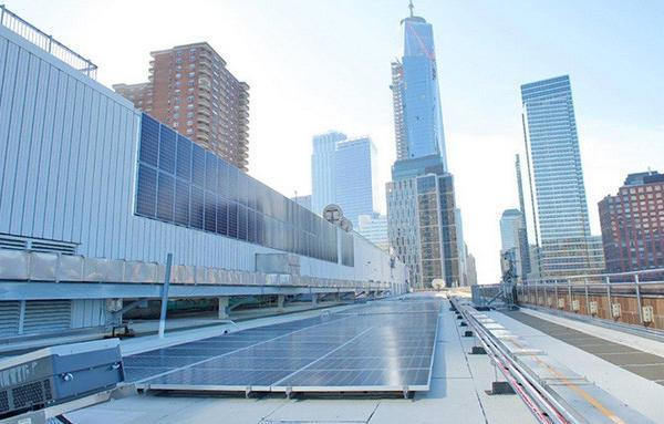 Manhattan solar array