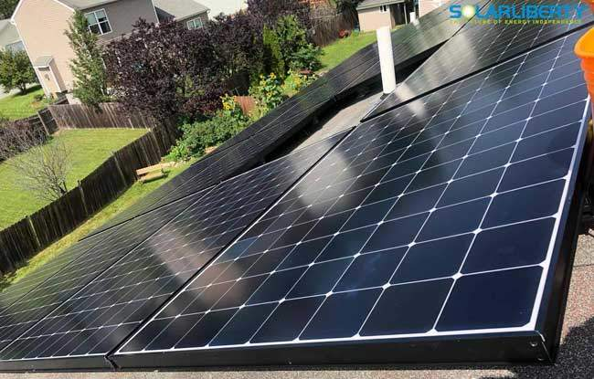 Glens Falls solar panel